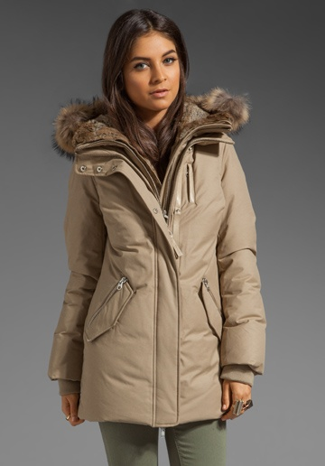 MACKAGE Lux Down Marla Jacket in Sand at Revolve Clothing - Free Shipping!