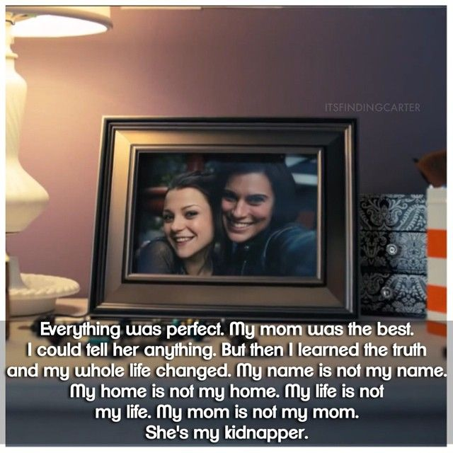 #FindingCarter The first time I saw the promo for this show I knew I had to watch it. Such a neat concept. Seeing Carter adjust to her new life makes for great tv. Also, I six really-s like Max and Taylor. ;D