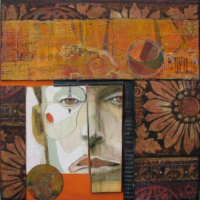 Anne Bagby - a favorite mixed media artist - go to her flickr page, there's lots more!!!