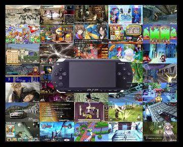 Collection Complète des Jeux PSP