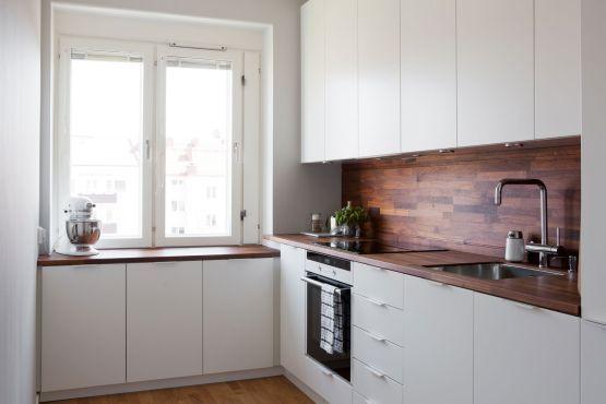 revestimientos de cocinas madera estilo nórdico decoración cocinas pequeñas decoración cocinas nórdicas cocinas pequeñas nórdica escandinavas cocinas encimera de madera cocinas blancas nórdicas blog decoración interiores nórdicos