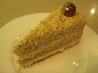 FarkasVilmos: Diótorta, Walnut cake