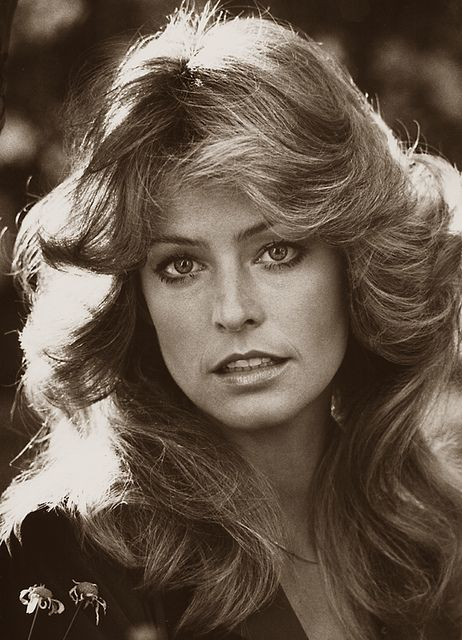 Farrah Fawcett: 1976. I never quite achieved it, but oh how I tried.