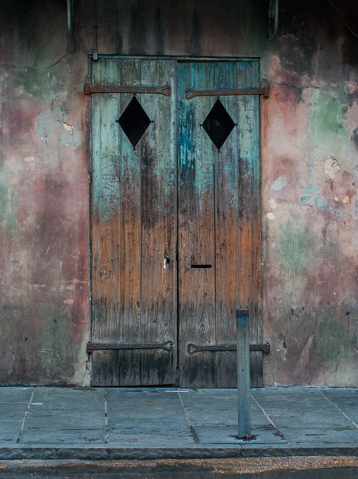 Rustic Door, French Quarter, New Orleans                                                                                                                                                                                 More