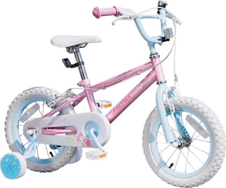Fairies 14 Inch Bike - Girls .