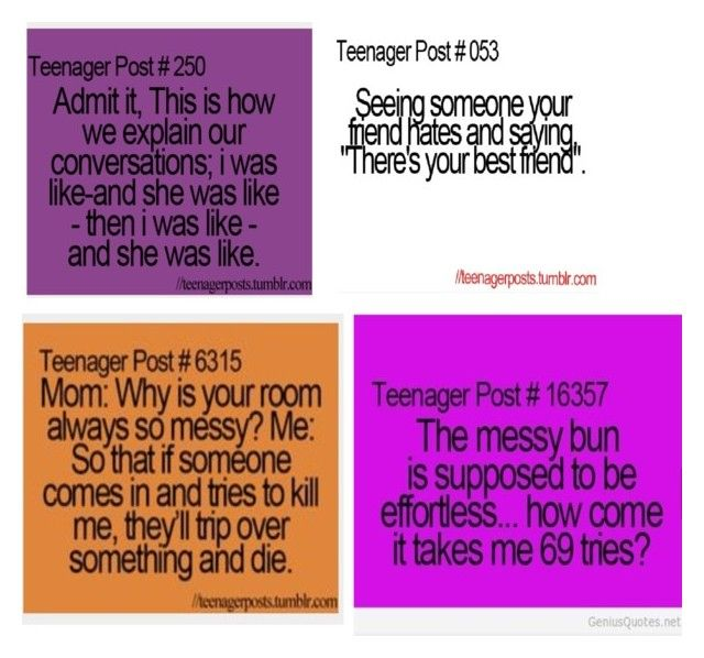 """Funny teenager post #1"" by kels-bels-and-life ❤ liked on Polyvore"