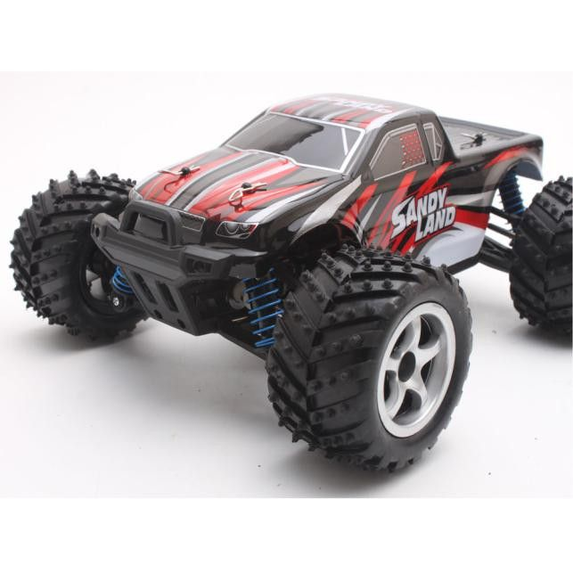 Dmart7dealPengXiang 9300 2.4G Remote Control Car Kid Toy Model 1:18 Shockproof Rubber wheels Buggy High Speed Monster Car
