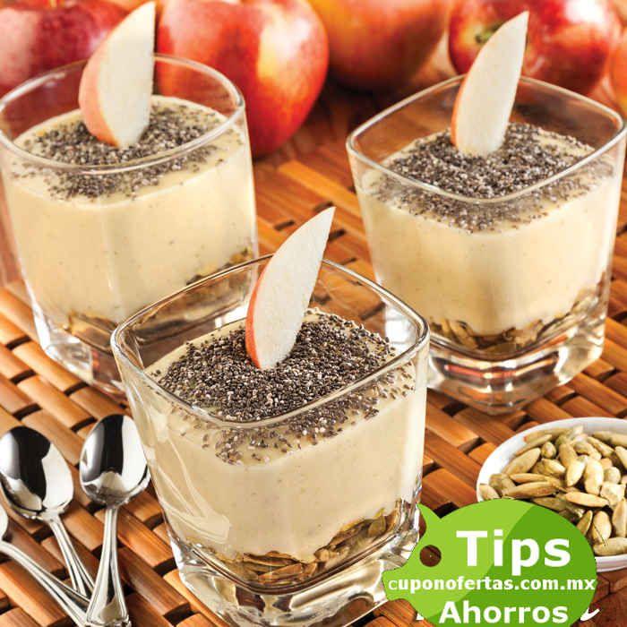 Receta de Postre de manzana y chía *4 porciones Ingredientes:  2 cdas de mantequilla sin sal 5 pza. de manzana gala en cubos grandes 1 cdita de canela en polvo 1 cda de hojas de albahaca lavadas y desinfectadas 4 cdas de pepitas verdes 100 gr de semillas de chía ½ taza de leche condensada 1 taza ... -> http://www.cuponofertas.com.mx/receta-de-postre-de-manzana-y-chia/