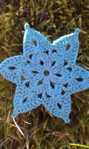Blue Sky Snowflake - C