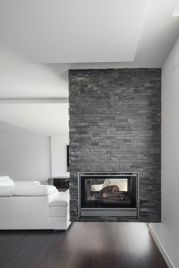 Extravagant fireplace steals the show stone fireplace for the spacious - Extravagant Fireplace Steals The Show Stone Fireplace For The Spacious Find This Pin And More Download