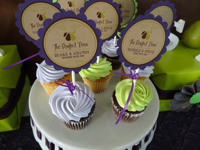 Great engagement party cupcakes