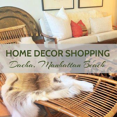Home Decor Shopping In LA Interior Design Shops Manhattan