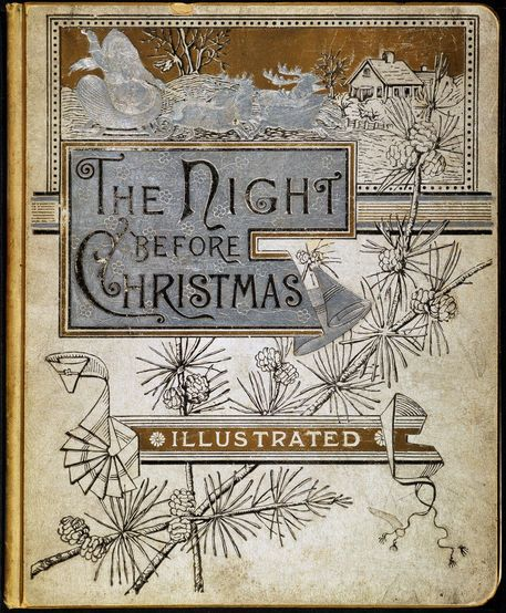 Vintage The Night Before Christmas - 1883 Edition