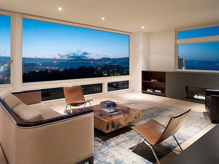 city living room when you a million dollar view you want to orient 10913