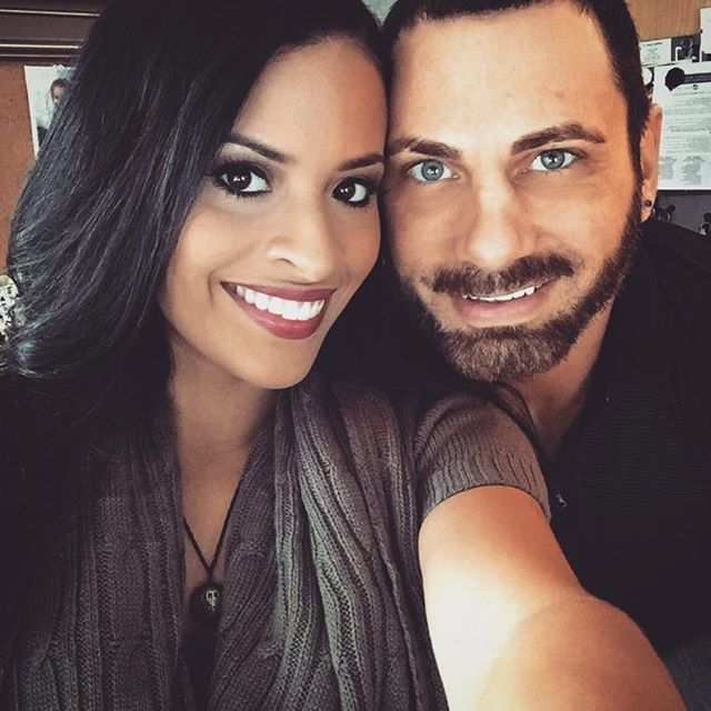 WWE NXT Superstar Austin Aries (Daniel Healy Solwold Jr.) recently got engaged to his girlfriend TNA Knockout Thea Trinidad #WWE #wwecouples