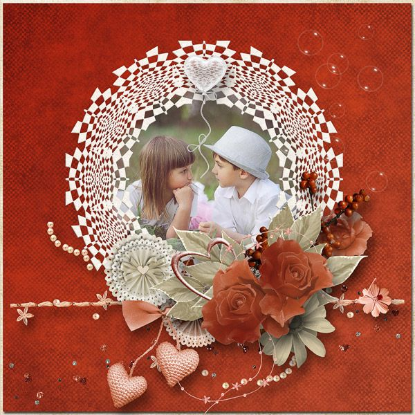 """JIRSEV scrap: """"A LOVE FOR ALL TIME"""" by Angelique's Scraps"""