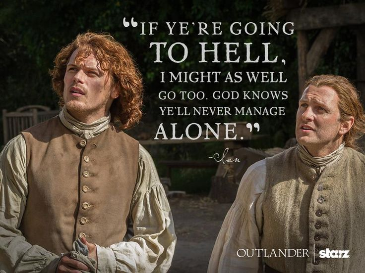 Jamie Fraser and Ian Murray (Season 1)