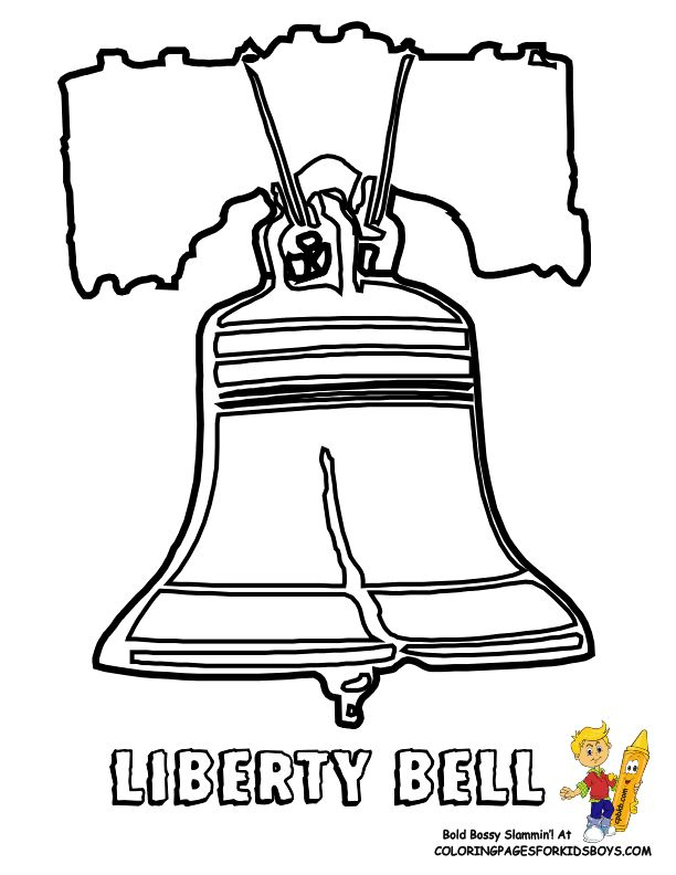 images of coloring pages of bells google search