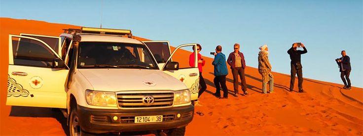 Expedición singles al sur de Marruecos en circuito en 4x4