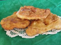 This Native American Fry Bread is soooooo good. We add about 1Tbs. of honey to our dough.