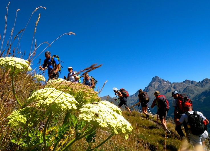 Valle Varaita Trekking - Tappe