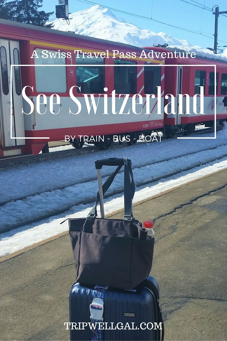 Come along on a train, boat and bus ride across Switzerland! The Swiss Pass made it easy and affordable.