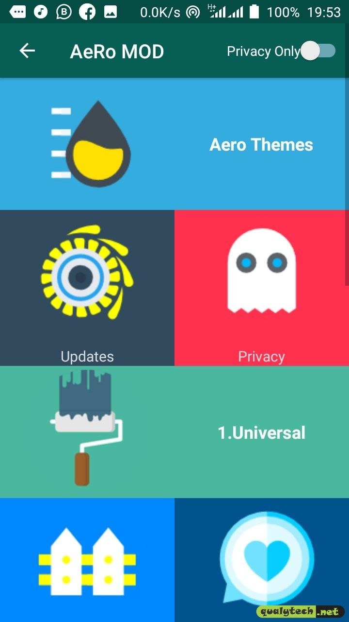 Download Whatsapp Aero V8 0 Apk For Android Aero Chrome Apps Download