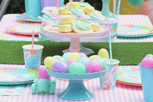 Easter is just a hippity hop away! Are you ready to celebrate all things eggs, sweet treats, and cute bunnies? We've got some fun party ideas to share! From balloons, to candies, and cute Easter themed party goods, @Party City has everything you need! See all the hop-tastic details here ---> www.lauraslittlep... #EasterParty