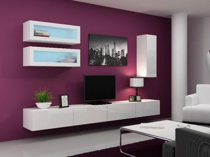 Obývací stěna VIGO 11 bílá