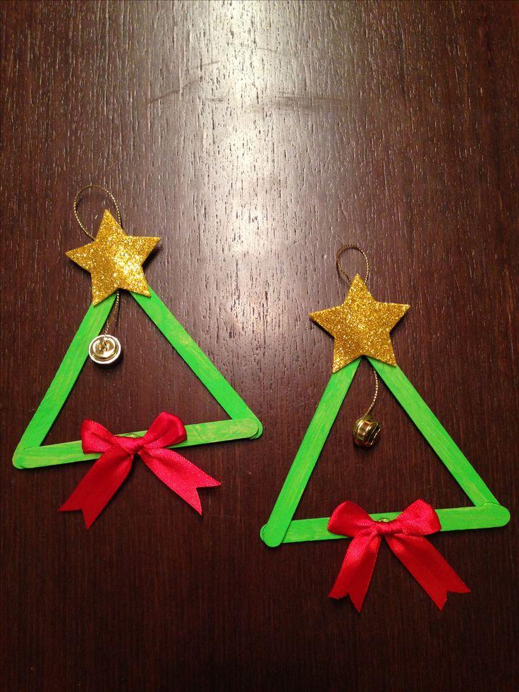 Christmas trees handmade