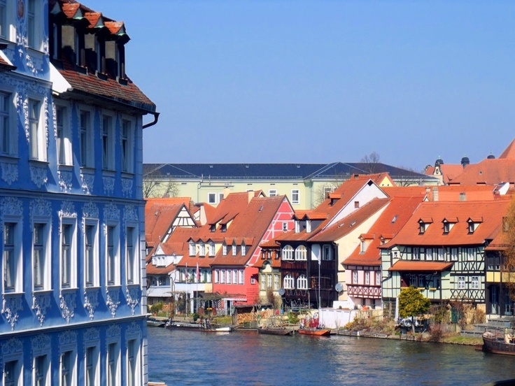 Regnitz River, Bamberg, Germany (With images) Bamberg