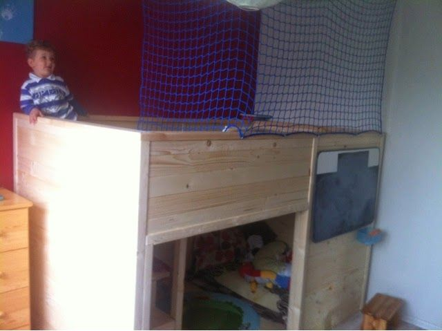 child's bed finally done! http://byangie24.blogspot.com/2014/04/projekt-pokoj-grzesia-ozko-project.html