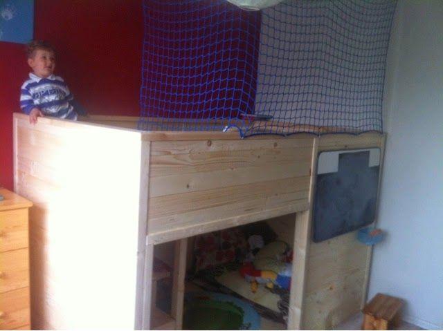 child's bed finally done! http://byangie24.blogspot.com/2014/04/projekt-pokoj-grzesia-ozko-project.html