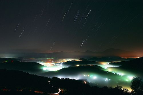 i will one day see a meteor shower.