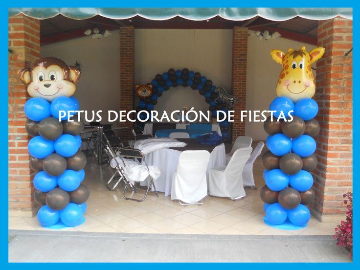 Decoracion Bautizo Mixto ~   dar?n la bienvenida a tus invitados al Bautizo Tema  Arca de No?