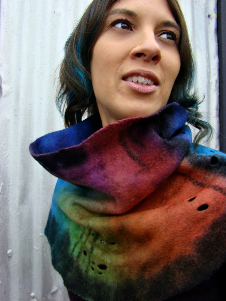 Fiona Duthie bark cowl