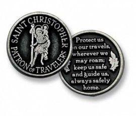 Christoffel muntje - De Vrolijke Engel