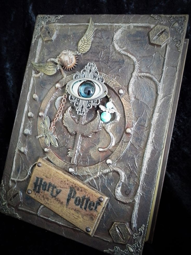 Harry Potter Book Cover Fabric : Best vintage journals fabric books images on