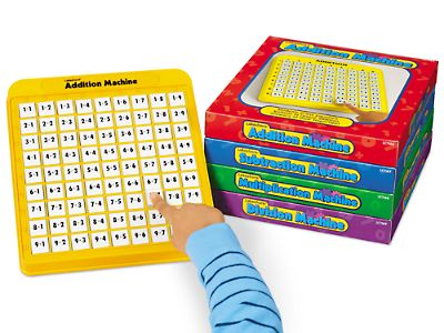 Self-Teaching Math Machines - Complete Set at Lakeshore Learning
