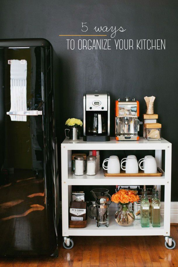 Get your kitchen organized for Spring with these 5 fresh ideas!