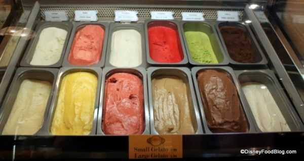 Disney Food Blog Challenge: The Walt Disney World Gelato Crawl! More Disney stories on the Disney Bloggers Collection at http://disneybloggers.blogspot.com
