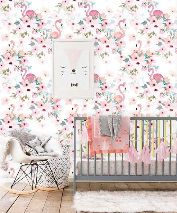 self adhesive wallpaper removable wallpaper nursery girl