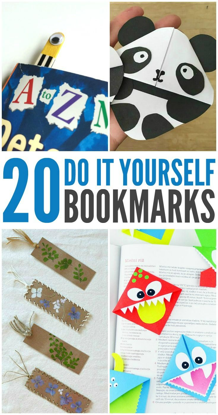 National Reading Month - 20 Bookmarks for Kids