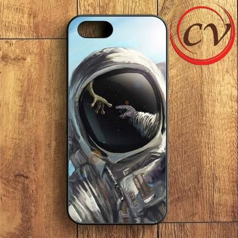 Astronout In Space iPhone SE Case