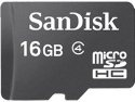 SanDisk 16 GB Class 4 microSDHC Flash Memory Card