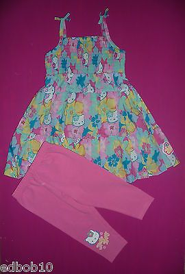 #Girls marks & #spencer hello kitty #dress tunic & leggings 18-24m 2-3 3-4 4-5 5-,  View more on the LINK: http://www.zeppy.io/product/gb/2/151000869288/