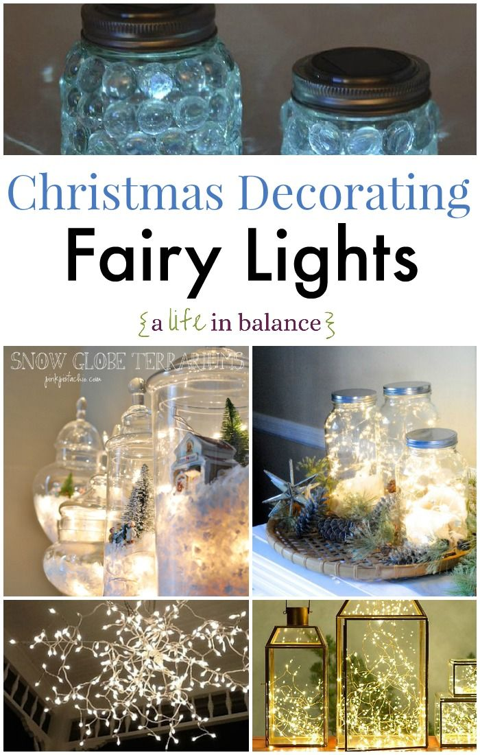 Christmas Decorating: Fairy Lights