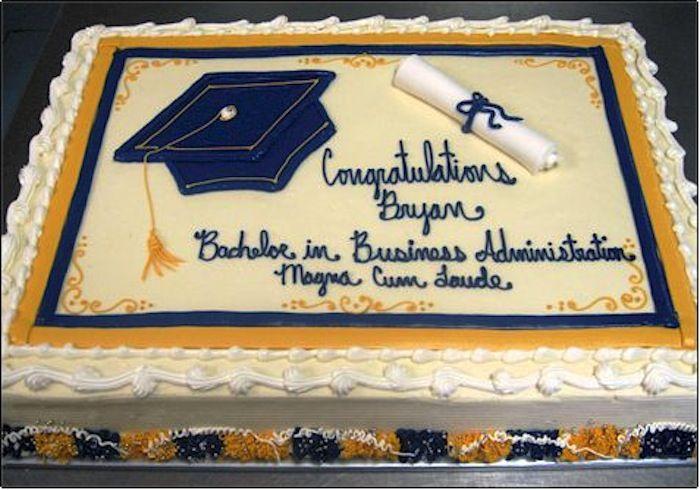 Best Graduation Cake Congrats Engineer