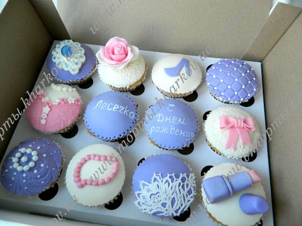 капкейки в честь дня рождения малыша - Поиск в Google