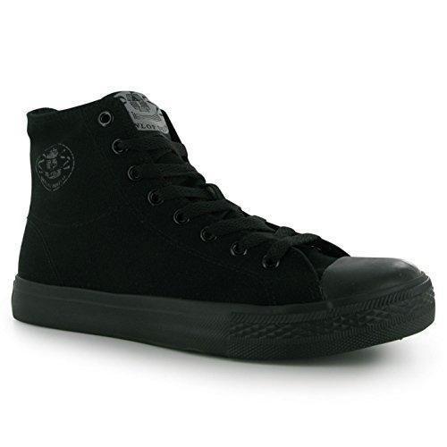 Oferta: 22.99€. Comprar Ofertas de Dunlop - Zapatillas altas Hombre , color Negro, talla 9 (43) barato. ¡Mira las ofertas!